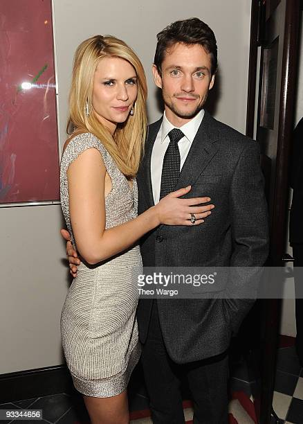 """Actors Claire Danes and husband Hugh Dancy attend the after party for The Cinema Society with Screenvision & Brooks Brothers screening of """"Me And..."""