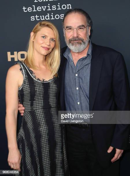 Actors Claire Danes and Mandy Patinkin attend the FYC event for Showtime's 'Homeland' at the Writers Guild Theater on June 5 2018 in Beverly Hills...