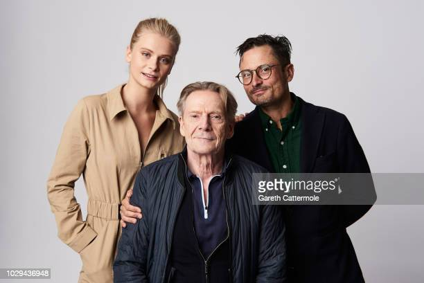 Actors Clara Rosager and Jesper Christensen and filmmaker Michael Noer from the film 'Before the Frost' pose for a portrait during the 2018 Toronto...
