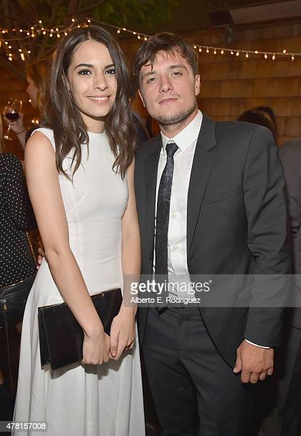 Actors Claudia Traisac and Josh Hutcherson attend the after party for the premiere of RADiUS and The Weinstein Company's Escobar Paradise Lost on...