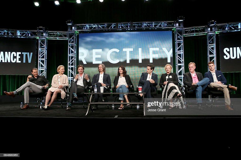 "SundanceTV TCA Panel For ""Rectify"" : News Photo"