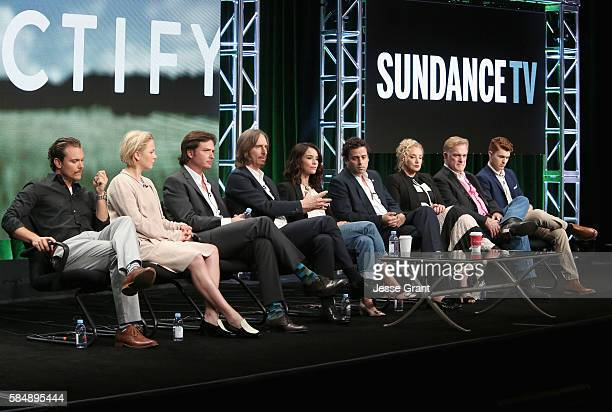 Actors Clayne Crawford Adelaide Clemens Aden Young Creator/executive producer/writer/director Ray McKinnon actors Abigail Spencer Luke Kirby J...