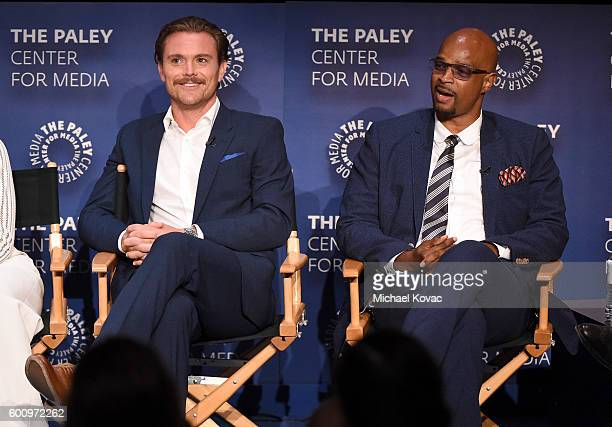 Actors Clayne Crawford and Damon Wayans Sr at The Paley Center for Media's 10th Annual PaleyFest Fall TV Previews honoring FOX's Lethal Weapon at the...