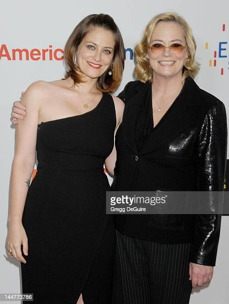 Actors Clementine Ford and mom Cybill Shepherd arrive at the 19th Annual Race To Erase MS Event at the Hyatt Regency Century Plaza on May 18 2012 in...