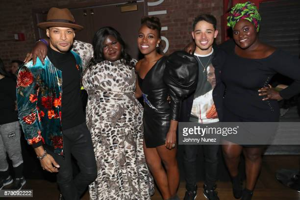 Actors Cleo Anthony Gabourey Sidibe DeWanda Wise Anthony Ramos Danielle Brooks attend Netflix Original Series 'She''s Gotta Have It' Premiere and...