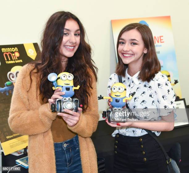 Actors Coco Grayson and Ashley Boettcher attends Celebrities to the Rescue Hollywood's Day of Community Service on May 6 2017 in Studio City...