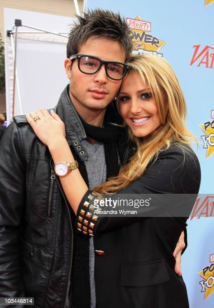d2862e80b597 Actors Cody Longo and Cassie Scerbo arrive at Variety's 3rd annual Power of  Youth event held