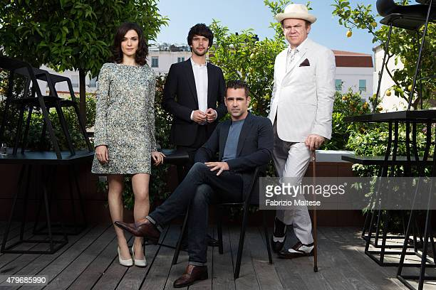 Actors Colin Farrell Rachel Weisz John C Reilly and Ben Wishaw photographed are for The Hollywood Reporter on May 15 2015 in Cannes France