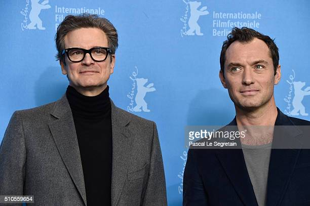 ¿Cuánto mide Jude Law? - Altura - Real height Actors-colin-firth-and-jude-law-attend-the-genius-photo-call-during-picture-id510559654?s=612x612