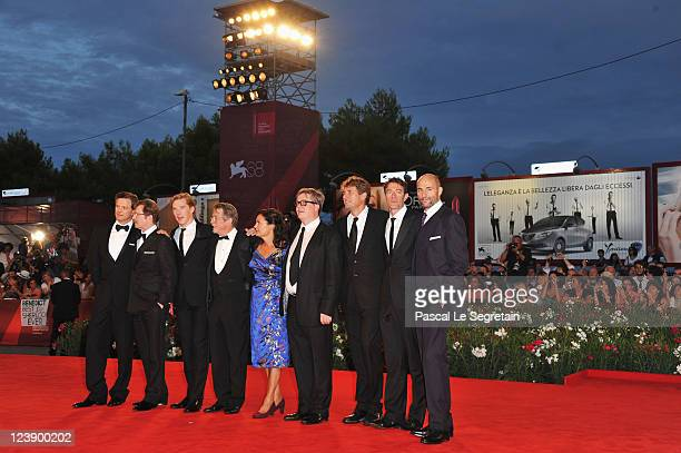 Actors Colin Firth Gary Oldman Benedict Cumberbatch John Hurt producer Robyn Slovo director Tomas Alfredson producer Tim Bevan writer Peter Straughan...