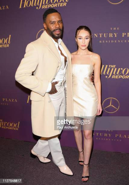 Actors Colman Domingo and Alycia DebnamCarey attend The Hollywood Reporter's 7th annual Nominees Night at CUT on February 04 2019 in Beverly Hills...