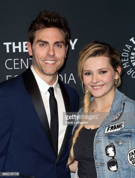 Actors Colt Prattes and Abigail Breslin attend the 2017 PaleyLive LA Spring Season 'Dirty Dancing The New ABC Musical Event' premiere screening and...