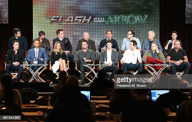 Actors Colton Haynes David Ramsey Katie Cassidy Stephen Amell Grant Austin Tom Cavanagh Wentworth Miller Dominic Purcell actors Brandon Routh Matt...