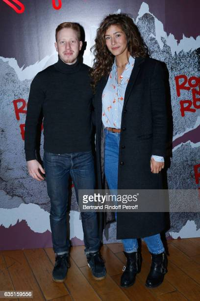 Actors Come Levin and Manon Azem attend the Rock'N Roll Premiere at Cinema Pathe Beaugrenelle on February 13 2017 in Paris France