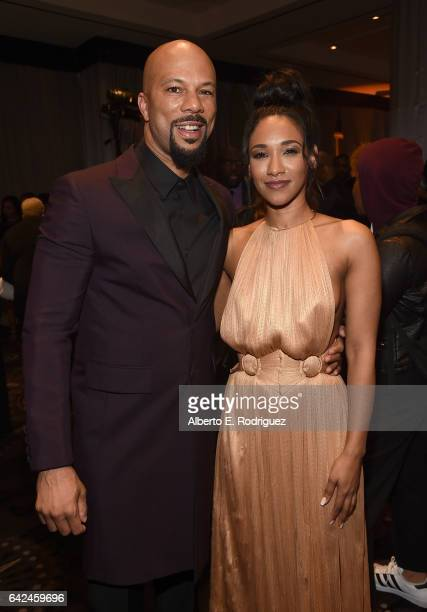 Actors Common and Candice Patton attend BET Presents the American Black Film Festival Honors on February 17 2017 in Beverly Hills California