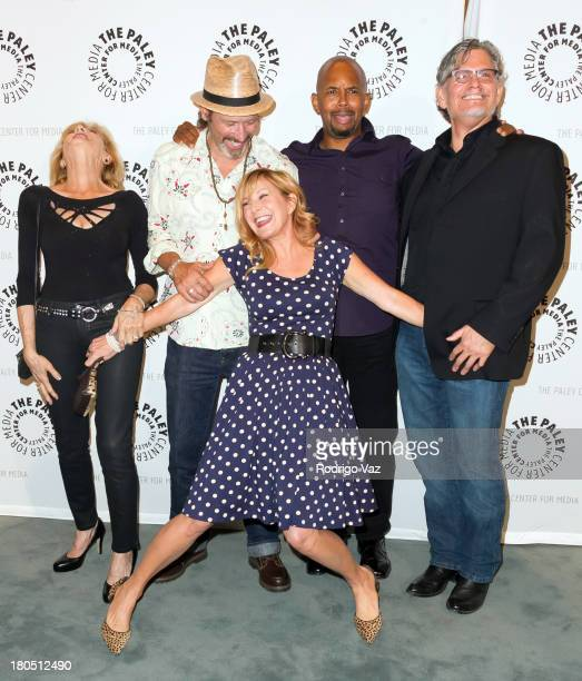Actors Concetta Tomei Brian Wimmer Chloe Webb Michael Boatman and Jeff Kober attend PaleyFestPreviews Fall TV Fall Flashback Reflections 'China...