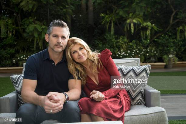 Actors Connie Britton and Eric Bana are photographed for Los Angeles Times on October 25 2018 in Beverly Hills California PUBLISHED IMAGE CREDIT MUST...