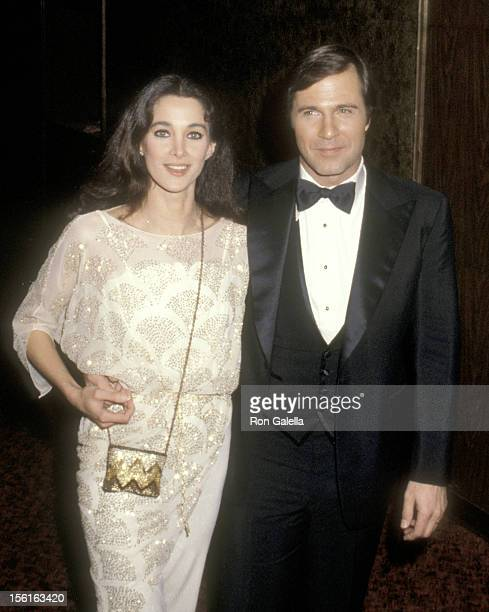 Actors Connie Sellecca and Gil Gerard attend the Sixth Annual People's Choice Awards on January 24, 1980 at Hollywood Palladium in Hollywood,...