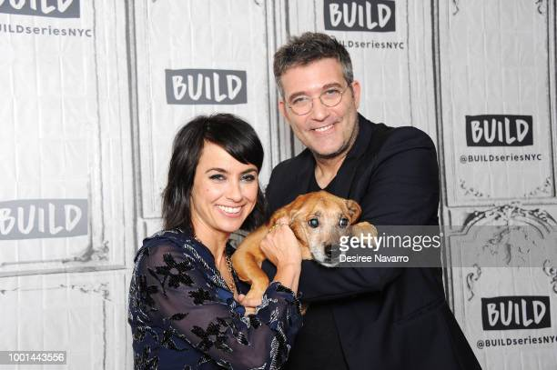 Actress Constance Zimmer visits Build Series to discuss 'UnREAL' at Build Studio on July 18 2018 in New York City