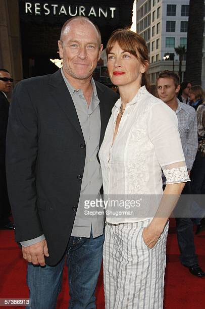 Actors Corbin Bernsen and Amanda Pays attend the premiere of TriStar Pictures' Silent Hill at the Egyptian Theatre on April 20 2006 in Hollywood...