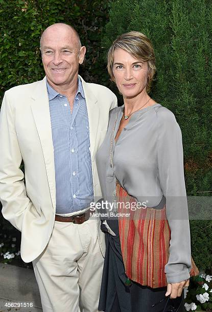 Actors Corbin Bernsen and Amanda Pays attend The Rape Foundation's Annual Brunch at Greenacres on September 28 2014 in Beverly Hills California