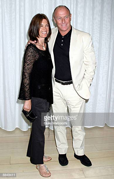 Actors Corbin Bernsen and wife Amanda Pays attend Paramount Network Television and CBS 200 Episodes Celebration Party of JAG at The Mondrian/Asia de...