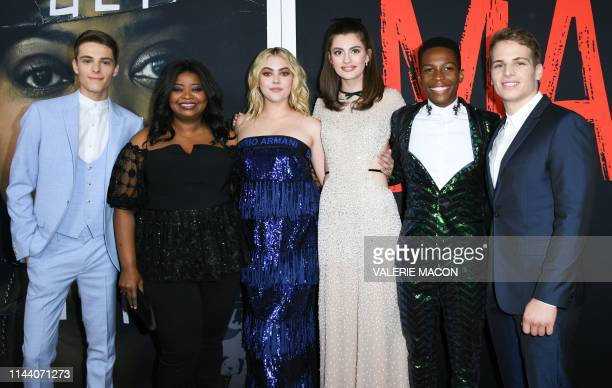 actors Corey Fogelmanis Octavia Spencer McKaley Miller Diana Silvers Dante Brown and Gianni Paolo arrive for Universal Pictures' special screening of...