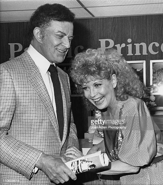 Actors Cornel Wilde and Gloria DeHaven crack up while filming an episode of 'The Love Boat' on March 31 1983