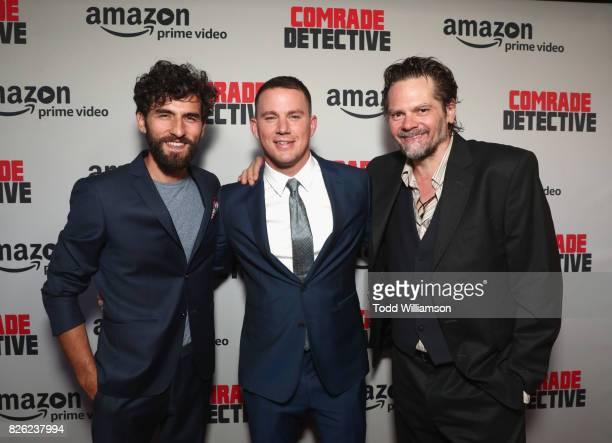 "Actors Corneliu Ulici, Channing Tatum and Florin Piersic Jr. Attend Amazon Prime Video Premiere Of Original Comedy Series ""Comrade Detective"" In Los..."
