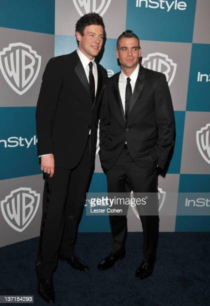 Actors Cory Monteith and Mark Salling arrive at the 13th Annual Warner Bros. And InStyle Golden Globe After Party held at The Beverly Hilton hotel on...