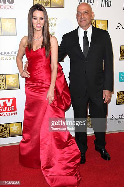 Actors Cory Oliver and Yossi Dina attend the BTJA Critics' Choice Television Award held at The Beverly Hilton Hotel on June 10 2013 in Beverly Hills...
