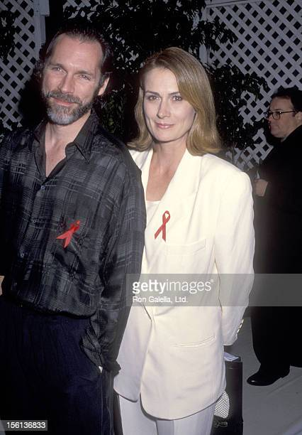 Actors Cotter Smith and Mel Harris attend the Sixth Annual Commitment to Life Gala to Benefit AIDS Project Los Angeles on November 18 1992 at...