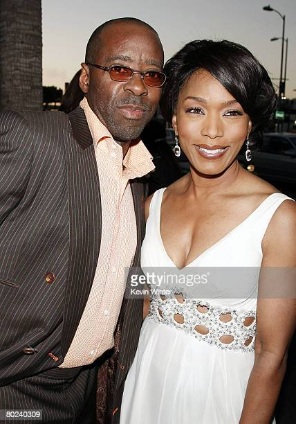 Actors Courtney B Vance and his wife Angela Bassett arrive at the premiere of Lionsgate's Tyler Perry's Meet The Browns at the Cinerama Dome Theater...