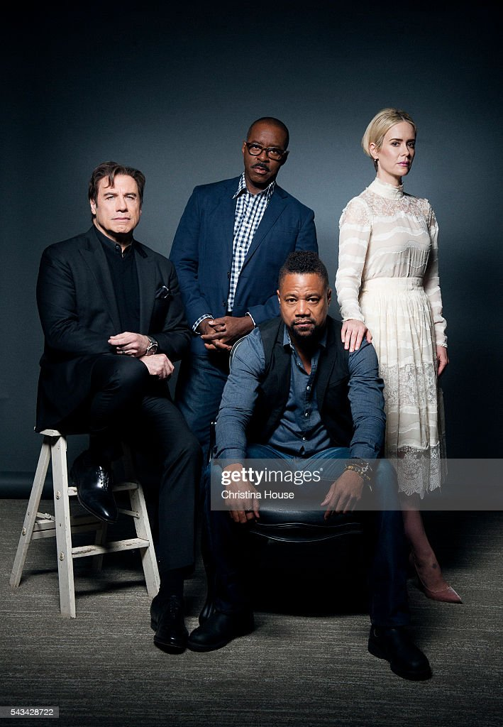 Cast of 'People vs OJ Simpson', Los Angeles Times, June 25, 2016