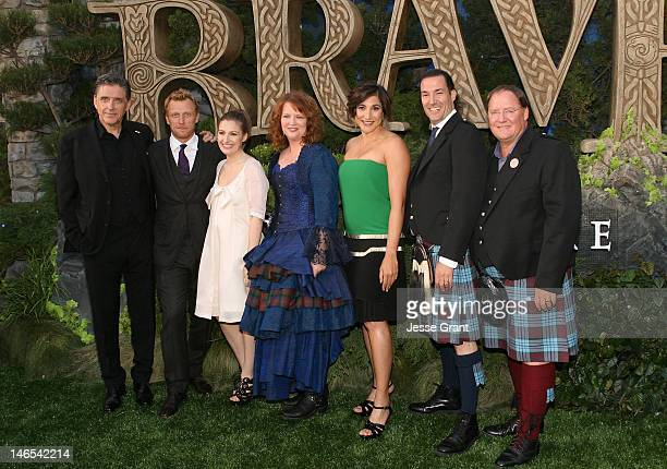 Actors Craig Ferguson Kevin McKidd Kelly Macdonald director Brenda Chapman producer Katherine Sarafian director Mark Andrews and Pixar Animation...
