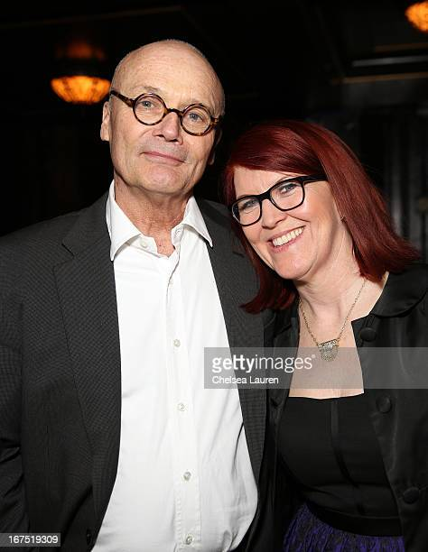 Actors Creed Bratton and Kate Flannery attend the Second Annual Hilarity For Charity benefiting The Alzheimer's Association at the Avalon on April 25...