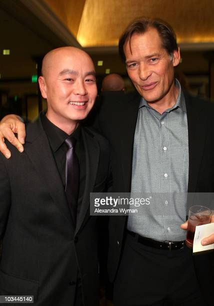 Actors CS Lee and James Remar arrive at the Paley Center for Media 2008 Gala honoring Showtime Networks Inc and Carl Reiner held at the Hyatt Regency...