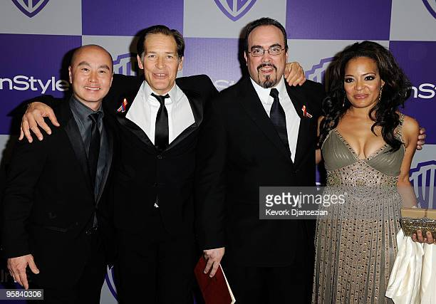 Actors CS Lee James Remar David Zayas and Lauren Vélez arrives at the InStyle and Warner Bros 67th Annual Golden Globes after party held at the Oasis...