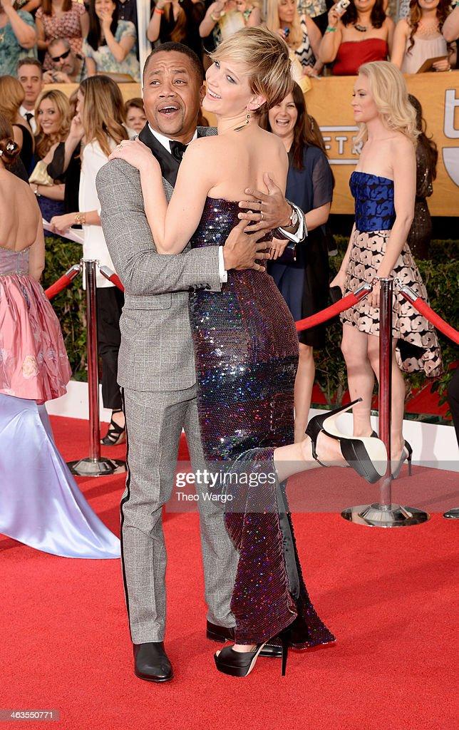 20th Annual Screen Actors Guild Awards - Arrivals : Fotografía de noticias