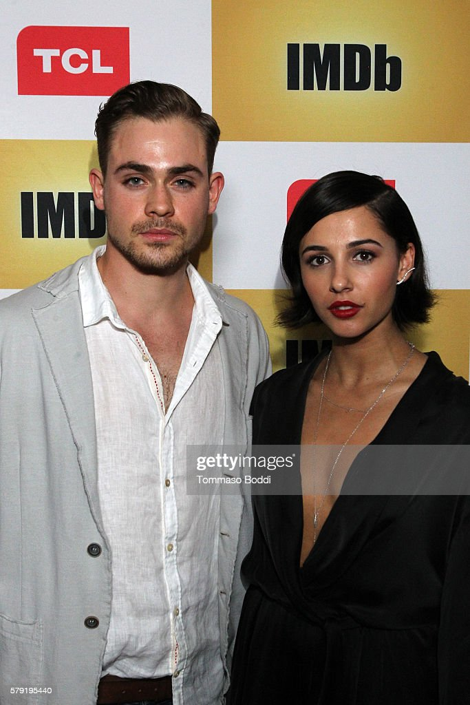 1603fe9413 Actors Dacre Montgomery and Naomi Scott attend the IMDb Yacht Party ...