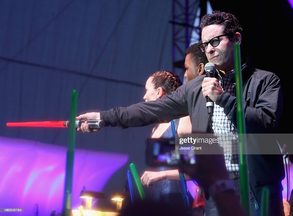Actors Daisy Ridley, John Boyega, director J.J. Abrams and more than 6000 fans enjoyed a surprise 'Star Wars' Fan Concert performed by the San Diego Symphony, featuring the classic 'Star Wars' music of composer John Williams, at the Embarcadero Marina Park South on July 10, 2015 in San Diego, California.