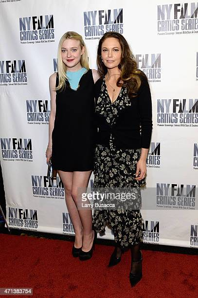 Actors Dakota Fanning and Diane Lane attend the New York Film Critic Series premiere of 'Every Secret Thing' at AMC Empire 25 theater on April 27...