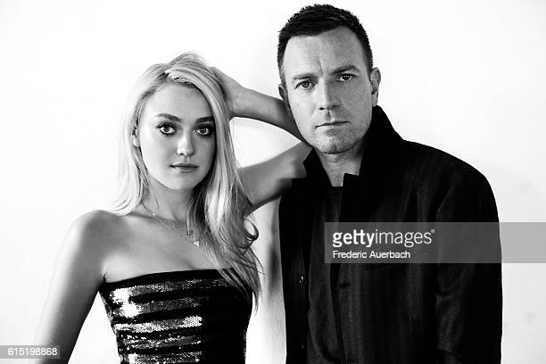 Actors Dakota Fanning and Ewan McGregor are photographed for Malibu Magazine on August 24 2016 in Los Angeles California