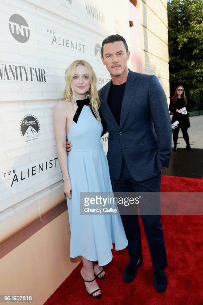 Actors Dakota Fanning and Luke Evans attend The Alienist Los Angeles For Your Consideration Event at Wallis Annenberg Center for the Performing Arts...