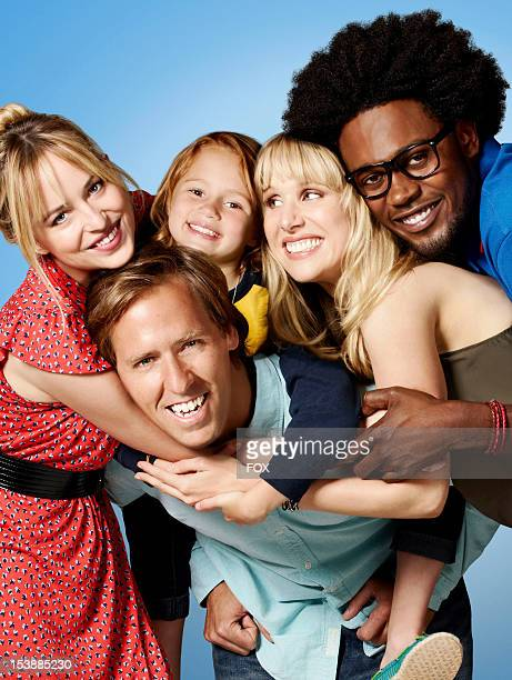 Actors Dakota Johnson Nat Faxon Maggie Elizabeth Jones Lucy Punch and Echo Kellum in the new heartwarming comedy BEN AND KATE airing Tuesdays on FOX