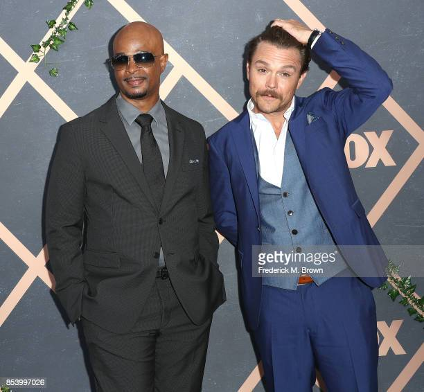 Actors Damon Wayans and Clayne Crawford attend FOX Fall Party at Catch LA on September 25 2017 in West Hollywood California