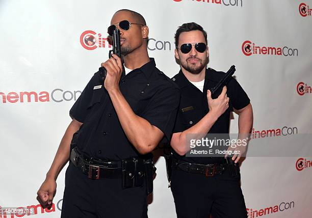 Actors Damon Wayans Jr. And Jake Johnson attend 20th Century Fox's Special Presentation Highlighting Its Future Release Schedule during CinemaCon,...