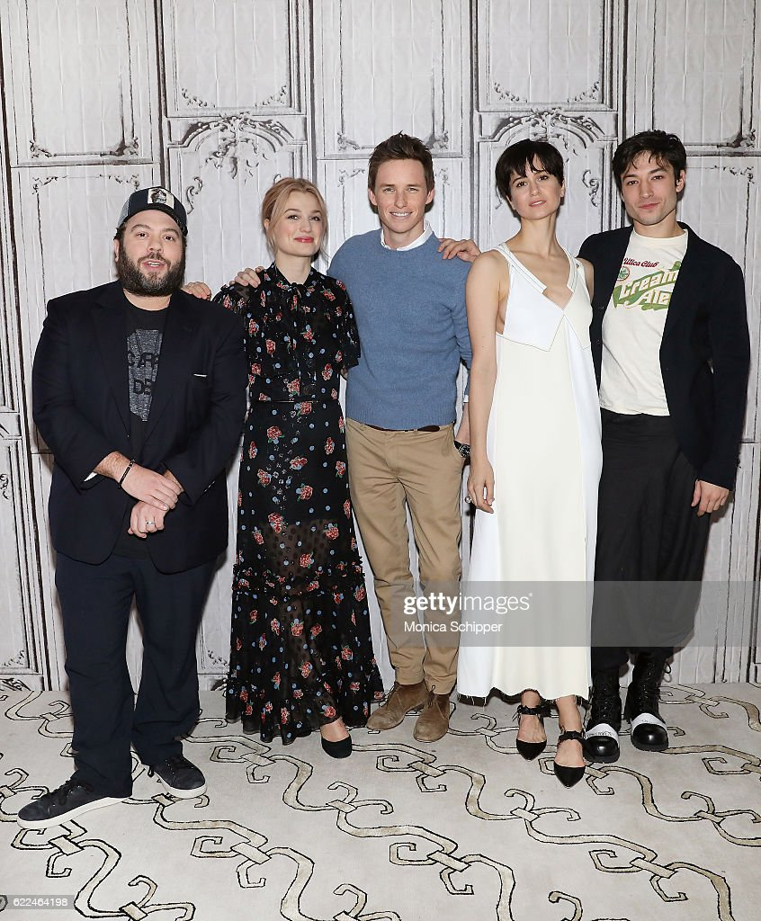 """The Build Series Presents Eddie Redmayne, Katherine Waterson, Dan Fogler and Alison Sudol, """"Fantastic Beasts And Where to Find Them"""""""