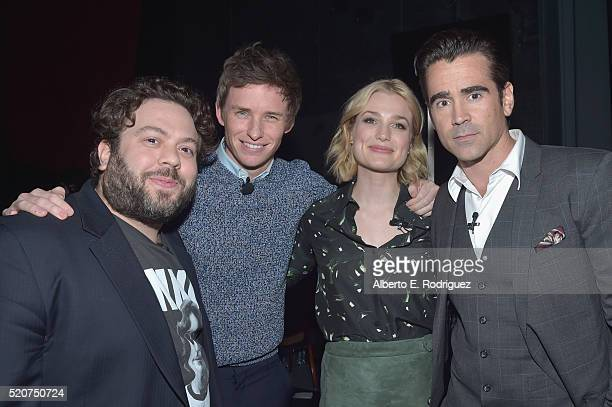"Actors Dan Fogler Eddie RedmayneAlison Sudol and Colin Farrell attend CinemaCon 2016 Warner Bros Pictures Invites You to ""The Big Picture"" an..."