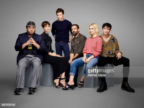 Actors Dan Fogler Katherine Waterston Eddie Redmayne Colin Farrell Alison Sudol and Ezra Miller from 'Fantastic Beasts and Where to Find Them' is...